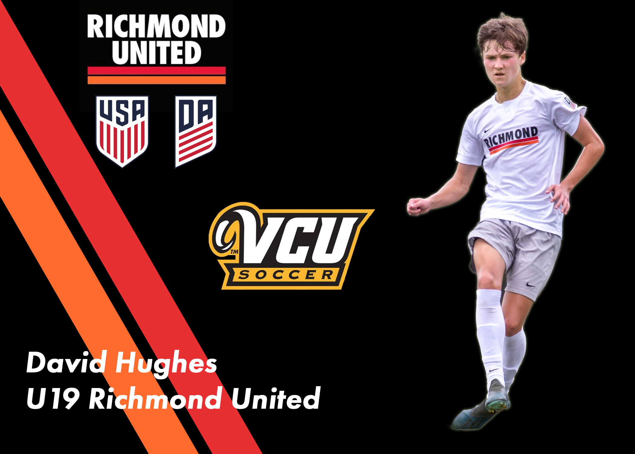 David Hughes Commits to VCU for the Fall of 2020